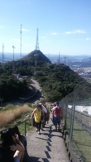 242 graus para chegar até a base do Pico do Jaraguá