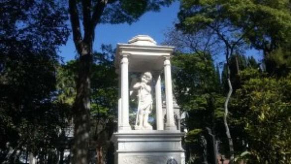 Personalidades históricas estão sepultadas neste cemitério. Foto: Patrícia Ribeiro/ Passeios Baratos em SP