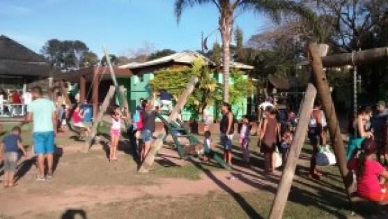 Uma das atrações é o playground. Foto: Patrícia Ribeiro/ Passeios Baratos em SP
