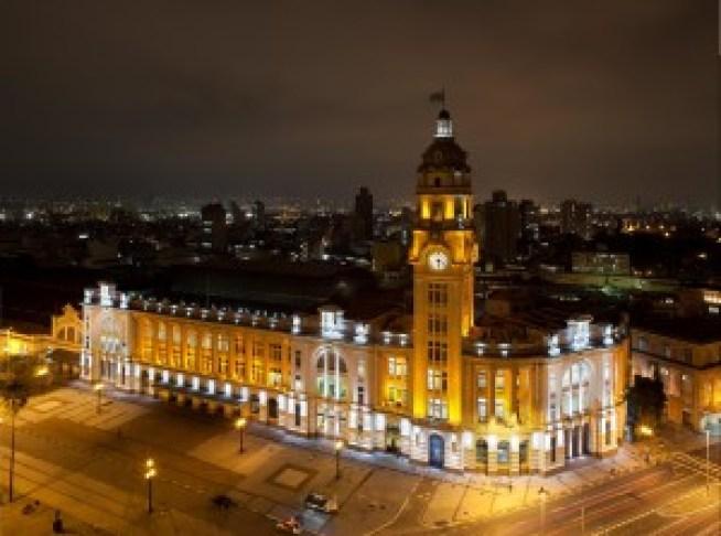 Sala São Paulo, vista noturna. Foto: Tuca Vieira