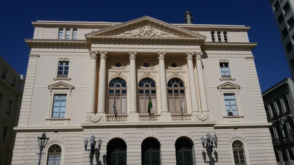 Palácio da Justiça. Foto: Patrícia Ribeiro/ Passeios Baratos em SP