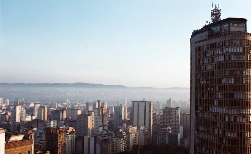 Vista do Copan - São Paulo Divulgação