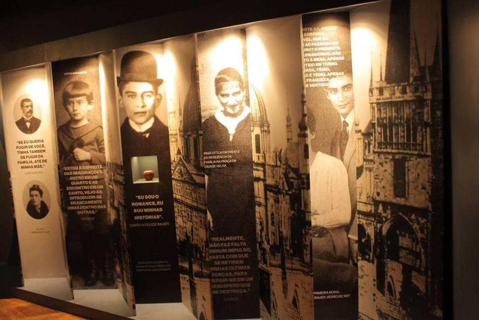Exposição sobre Franz Kafka é atração na Casa das Rosas