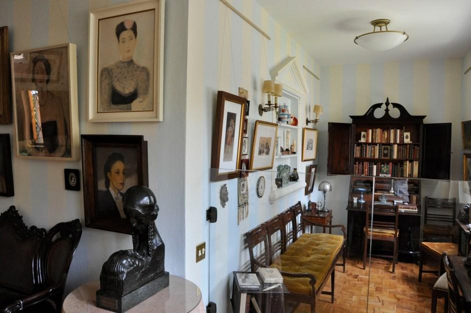 A casa-museu Guilherme de Almeida: arte, literatura e cinema. Foto: Elias Gomes