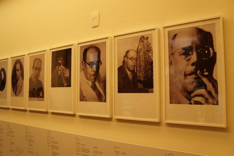 Fotos em diferentes fases de Mário Foto: Roteiros Literários