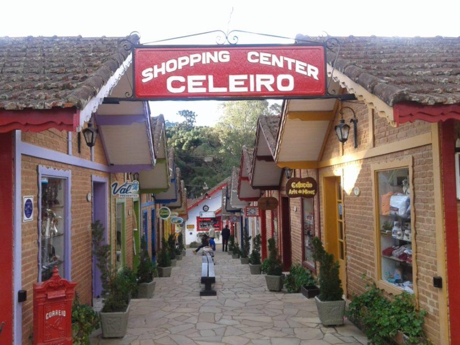 Shopping Celeiro é o mais antigo de Monte Verde Foto: Patrícia Ribeiro/Passeios Baratos em SP