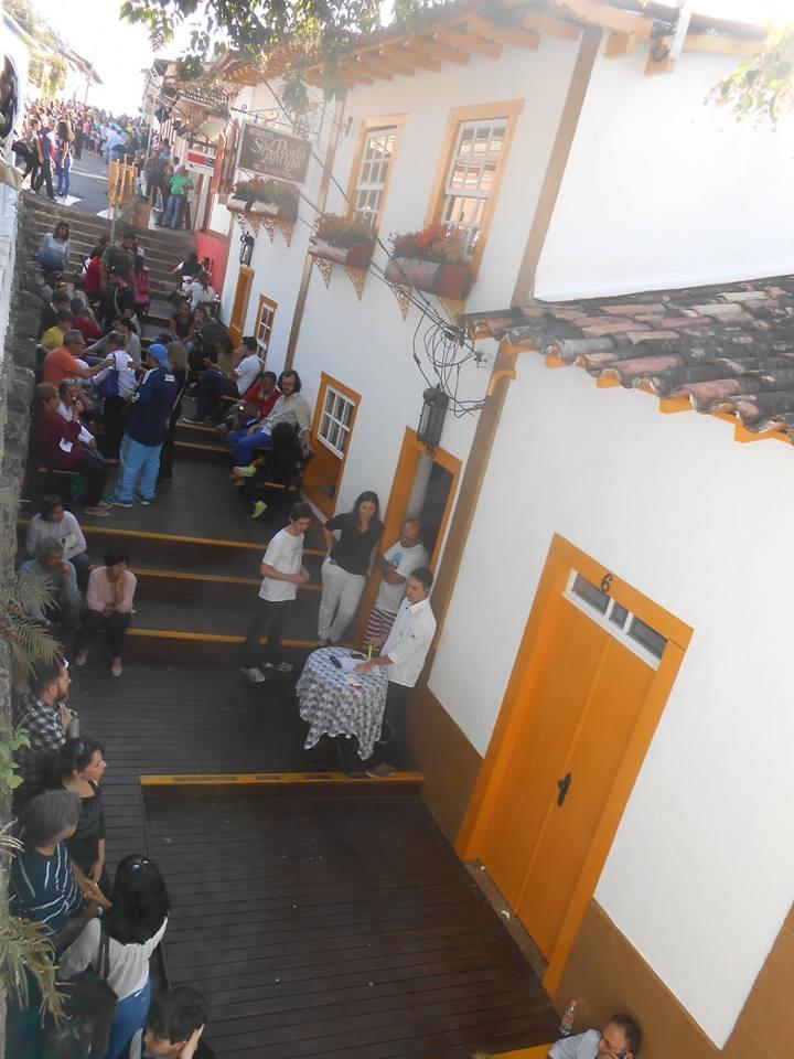 Restaurantes no centro histórico de Santana de Parnaíba Foto: Sueli dos Santos