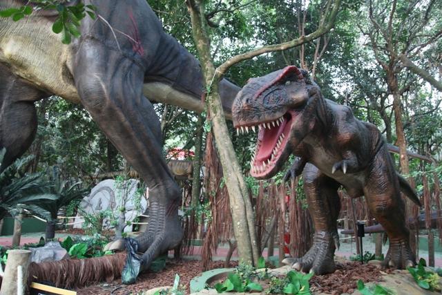 O Mundo dos Dinossauros - crédito Fernando Battistetti