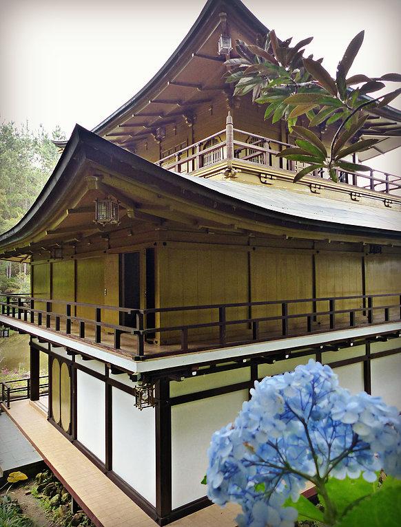 O templo é frequentado por praticantes de meditação e cerimônias Foto: Dani Nogueira