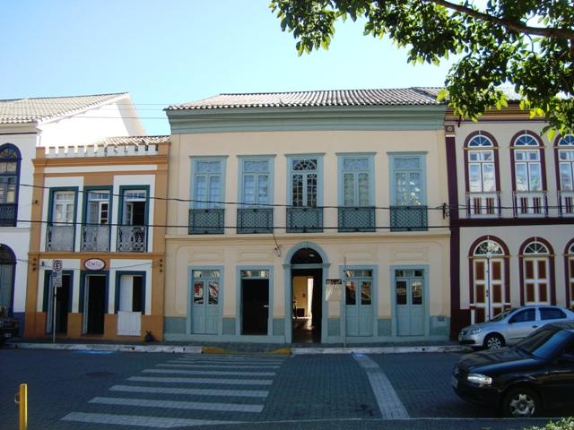 Sede da Prefeitura de São Luiz de Paraitinga - Casarão da Praça Foto Erika Hembik