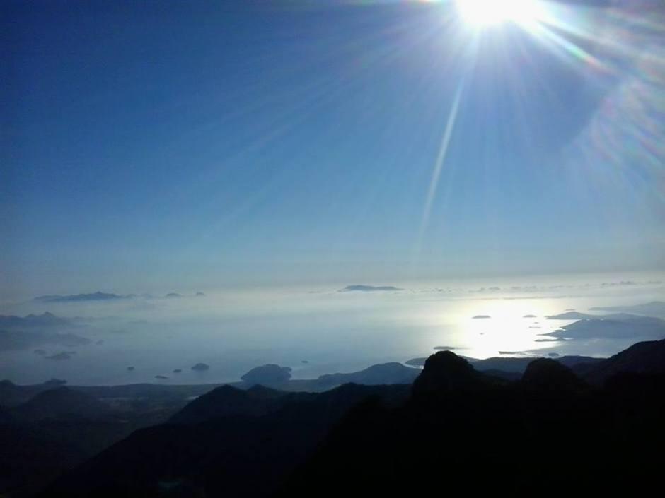 Vista da baía de Paraty e Angra dos Reis Foto: Sueli dos Santos