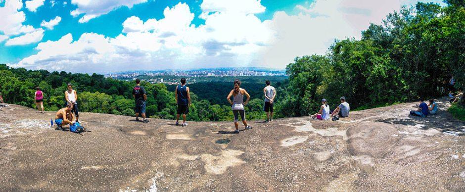Pedra Grande - Parque da Cantareira wikimedia Apolo Sales