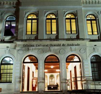 Oficina Cultural Oswald de Andrade tem programação cultural gratuita