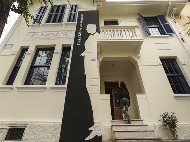 Casa Mário de Andrade Divulgação