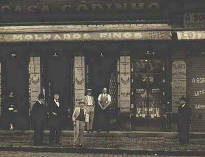 Casa antiga onde funcionava a mercearia Godinho Divulgação
