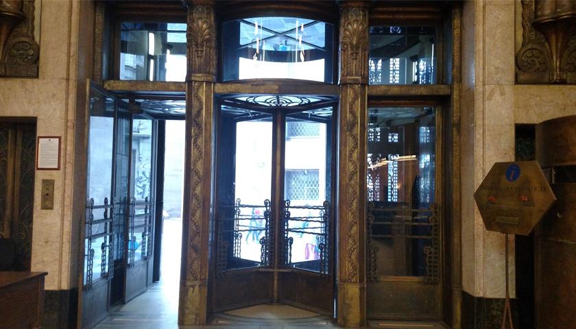 Interior do banco Foto: Patrimônio Histórico
