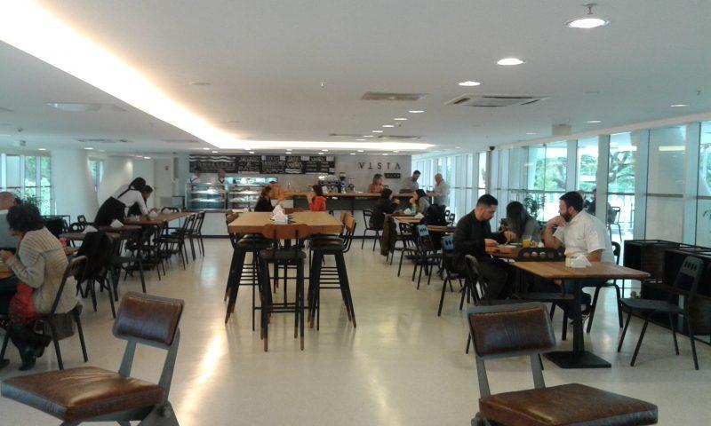 Ambiente do Vista Café Foto: Patrícia Ribeiro/Passeios Baratos em SP