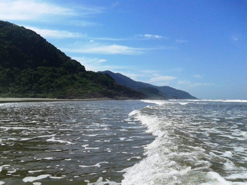 Praia de Caramborê - Jureia