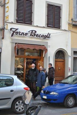 um forno em Florença