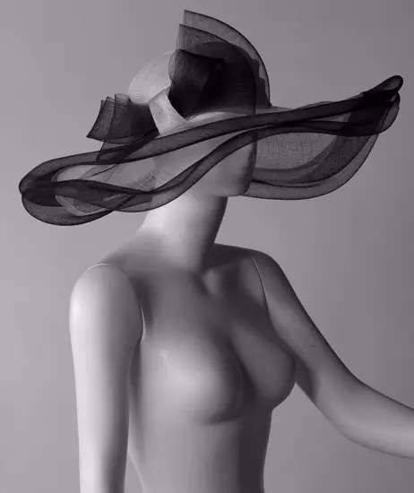 Trendintex Semilavorato per cappello, intrecciato manualmente con foglie di palma