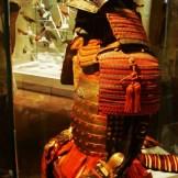 uma armadura samurai