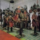 a sala dos soldados turcos e otomanos