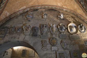 detalhe interno do Palazzo dei Priori