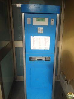 maquina para pagamento do bilhete