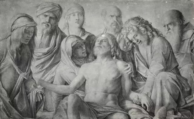 Compianto sul Cristo morto - Giovanni Bellini - Uffizi