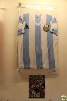 camisa de Maradona