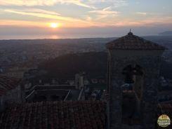Foto feita de cima da Igreja de San Rocco