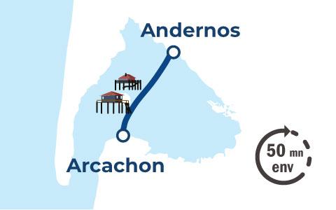 schéma Andernos-Arcachon