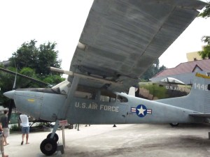 U.S. Air Force Plane displayed at the War Remnants Museum