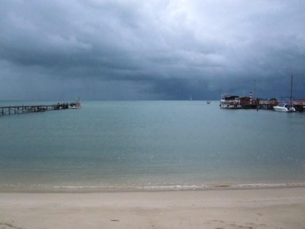 Storm over Koh Samui, Thailand