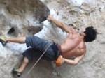 Rock Climber, Railay Beach