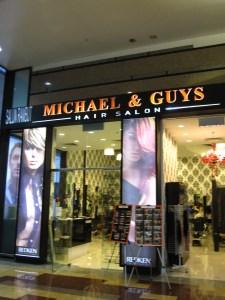 mall hair salon