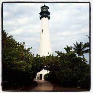 The lighthouse at Bill Baggs
