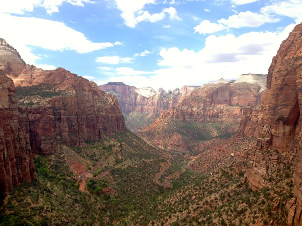 Stunning hike outside Zion National Park
