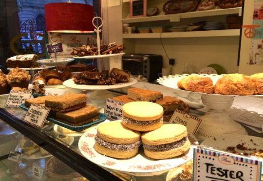 Bakery treats at Pani