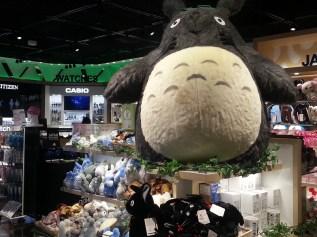 Immense supply of Totoro and Studio Ghibli things at Narita Airport