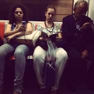 Untitled by Rodrigo Gómez metro, passengers, roma,