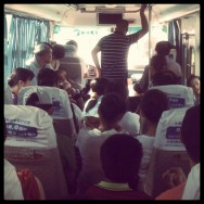 De camino a Yangdi by Alfonso Para passengers, ubiquography,