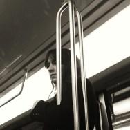 Ce qui me retient, ce qui m'enferme. L'attente.                  by Hipsto Hipstoresk ampt, igersparis, instagood, instalife, instamood, lensblr, life, mobilephoto, mobilephotography, mobilephoto_bw, passengers, streetlife, streetphotography, streetphoto_bw, subway, tribegram, wearejuxt, women,