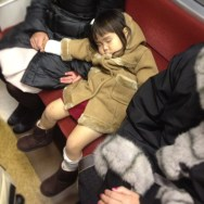 Big nap for little girl. by shakechan passengers,