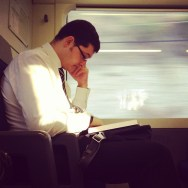 Studying  by Fran Simó passengers,