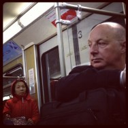 Esa mirada...          by Marta Pacheco bayern, germany, instagram, instandaily, iphonegraphy, metro, munich, passengers, streetphotography, ubiquography,