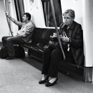 Untitled by Benjamín Julve blackandwhite, bucarest, bw, igers, iphonesia, monochrome, passengers, photooftheday, statigram, street, transport, ubiquography, webstagram,