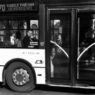 Untitled by Benjamín Julve blackandwhite, bucarest, bw, igers, iphonesia, monochrome, passengers, photooftheday, statigram, street, streetphotography, transport, ubiquography, webstagram,