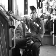 by Benjamín Julve belgrad, belgrade, blackandwhite, bw, igers, iphonesia, monochrome, passengers, photooftheday, statigram, street, streetphotography, transport, ubiquography, webstagram,