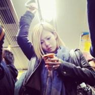 Blond  by Fran Simó passengers,